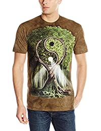 The Mountain Men's Yin Yang Tree Adult T-Shirt