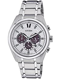 Citizen Eco-Drive Analog White Dial Men's Watch - CA4011-55A