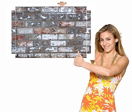 Möbelsticker Kunstvolle Mauerarbeiten Mauer für IKEA Couchtisch 90x55x45cm Möbelaufkleber, schickes Möbeltattoo - NEU 100CouchSti1462