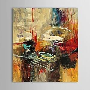 WEIAN® mano pittura a olio dipinta consegna astratta della parete foto arte con telaio allungato