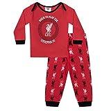 Liverpool FC Official Football Gift Boys Kids Baby Pyjamas