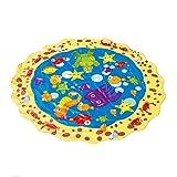 Fcostume Kinder Outdoor Sommer Spaß Spiel Party Spielzeug Sprinkler Pad Spielmatte Kleinkind Wasserspielzeug (AS Show)