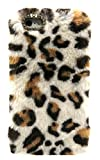3C Collection Coque Iphone 6 Plus Fourrure Leopard Blanc, Coque Iphone 6 PlusS Plus...