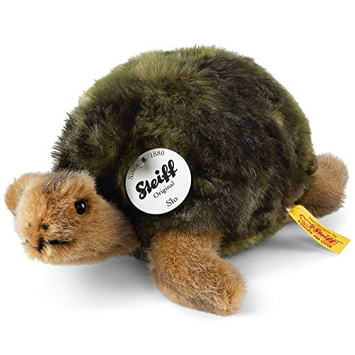 Steiff 068485 - Slo Schildkröte, grün, 20 cm