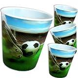 Football party-bicchieri, Lot de 4