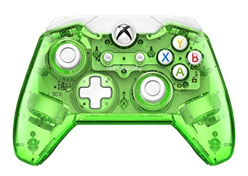 Rock Candy Wired Controller for Xbox One - Aqualime by PDP