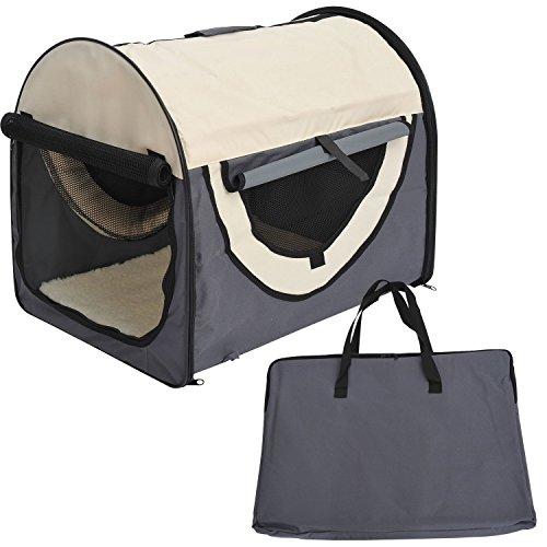 Transportin con Bolsa Transporte Perro Gato S (46 x 36 x 41) Mascotas