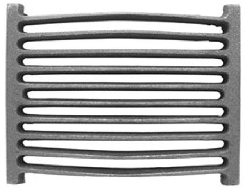 Preisvergleich Produktbild OFENROST GUSSEISEN 33x21cm /Kaminrost,Ascherost,Feuerrost,Eckrost,Herdrost