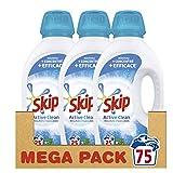 Skip Lessive Liquide Active Clean 75 Lavages (Lot de 3x25 Lavages)
