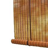 Bambusrollo- Jalousien Raffrollos Bambus-Rollo-Vorhang, 60% Lichtfilter Liftvorhang, Hakentyp Installation (Größe optional) (größe : 95x150cm)