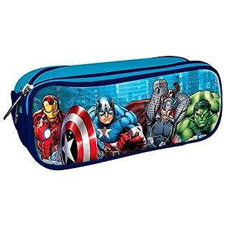 Portatodo Los Vengadores Marvel, 3 cremalleras