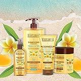 Evoluderm - Coffret Soin des cheveux au Monoï - Hydratant et Sublimant - 1x Shampoing 1000 ml + 1x Après-Shampoing 200 ml + 1