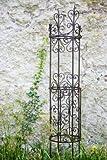 Rankgerüst Rankhilfe aus Metall H: 119cm, Ø: 22cm Rankturm Obelisk