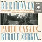 Pablo Casals plays Beethoven Sonatas for Cello and Piano