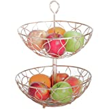 Copper Magic 2 Tier Fruit Basket