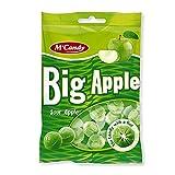 20 Beutel M'Candy Big Apfel Bonbons mit Apfelgeschmack a 150g Mc Candy