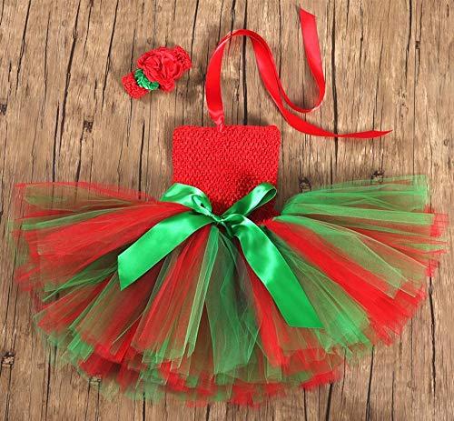 (DYMAS Kinder Weihnachten Weihnachtself Cosplay Kostüm Neujahr Kinder Tag Leistung Kleid Mädchen inszenieren)