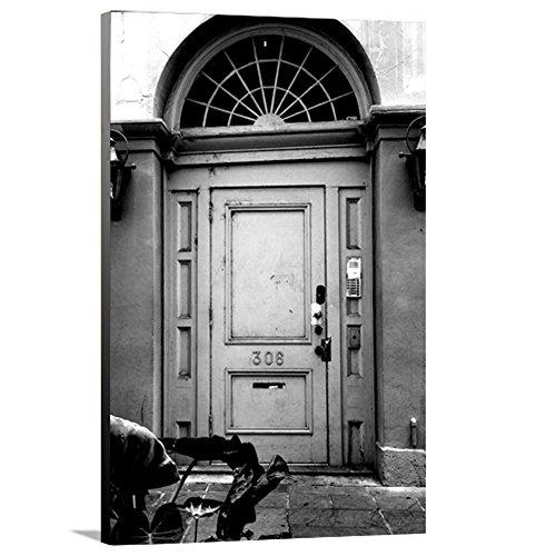 artzee Designs Home Décor fertig zum Aufhängen Geschenkidee Travel Lousiana New Orleans vorne Tür Leinwand Fotografie Wand Kunst 61x 76,2cm Multicolor, 61x 76,2cm