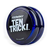 Yo-yo TenTrick by YoyoFactory - Azul (Cuscinetto, trucchi, ideale per i principianti)
