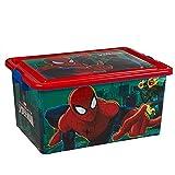 Spiderman Boîte à jouets-Taille: env. 45x 22x 32cm-Matériau de...