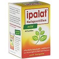 Ipalat Halspastillen zuckerfrei mild, 40 St preisvergleich bei billige-tabletten.eu