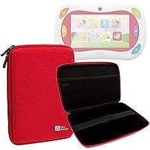 DURAGADGET Funda Tapa Dura Roja Para Gioco Happy Tablet 5710 De Chicco   ¡Guarde Su Tableta De Una Manera Segura!
