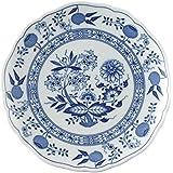 Hutschenreuther 02001-720002-10220 - Piatto per colazione, motivo: cipolle, 20 cm, blu