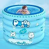 Aufblasbares Babyschwimmbecken Neugeborene Haushalt blau Rund Kinder 1-3 Jahre alt Babybadewanne
