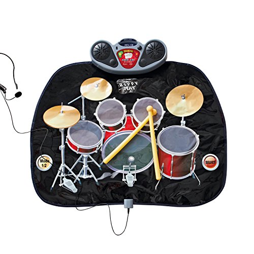 Global Gizmos Childs Drum Kit Playmat with MP3 by Global Gizmos - Gizmo Hat