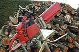 Sägebock Motorsägenständer Brennholzsäge Holzsägebock Metallsägebock mit Kettensägehalterung für Stämme bis
