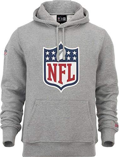 New Era NFL Sweat-Shirt à Capuche Logo XXXXL Gris chiné