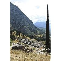 Ruins of a Temple in Delphi Greece