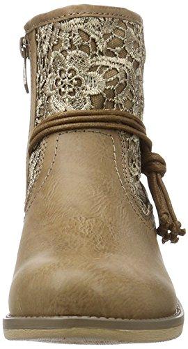 Rieker 96668, Bottes Classiques Femme Marron (congo/congo / 64)