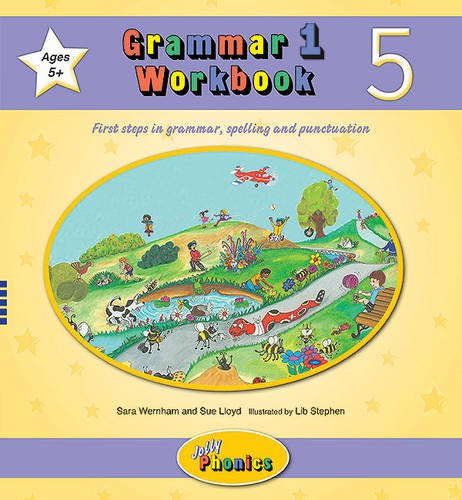 Grammar 1 Workbook 5: In Precursive Letters (British English edition) (Grammar 1 Workbooks 1-6)