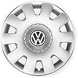 Volkswagen Original Tapacubos de 15 Pulgadas Golf Bora Polo Beetle Tapacubos 4 x Tapas 1j0071455