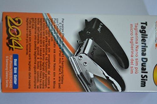 Taglierina Dual sim CARD 2 IN 1 Taglierina per micro