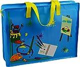 Mal- und Zeichentasche~45 x 34 cm groß~Maltasche~Farbwahl (Blau)