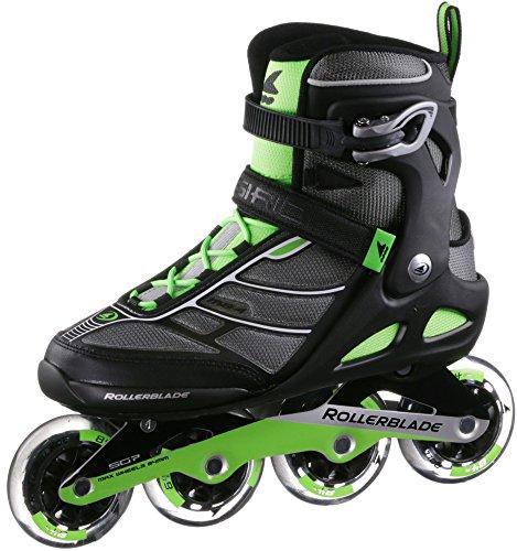 Rollerblade Patines Fitness, Negro y verde