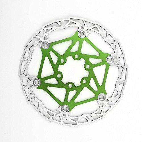 SKYSC DECKAS MTB - Disco de freno para bicicleta de montaña, 160 mm, 6 pernos giratorios
