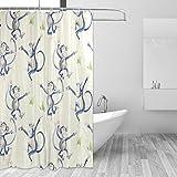 COOSUN Frechdachs Print Duschvorhang, Polyester-Gewebe Badezimmer Duschvorhang, 66 x 72-inch 66x72 Mehrfarbig