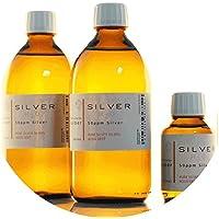 Preisvergleich für PureSilverH2O 1100ml kolloidales Silber (2x 500ml/50ppm) + Flasche (100ml/50ppm) Reinheit & Qualität seit 2012