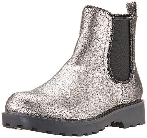 Guess Damen NOLA Chelsea Boots, Grau Silve, 39 EU