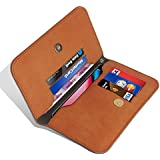 GBOS Phone Wallet Flip Leather Cover Case For LG G4 Dual Design Cover Case Pouch Bag Book Diary Case With Cash/Card Slot Brown