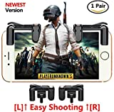 fortnite pubg Mobile Game Controller, Empfindliche Shoot und Ziel Tasten L1R1 Für Messer Out/pubg/fortnite/Rules Of Survival, 1 Paar Survival Game Controller für 11,4-16,5 cm Android iOS Handy