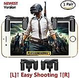 fortnite pubg Mobile Game Controller, Empfindliche Shoot und Ziel Tasten L1R1Für Messer Out/pubg/fortnite/Rules Of Survival, 1Paar Survival Game Controller für 11,4–16,5cm Android iOS Handy