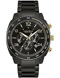 Caravelle New York Oro & Black Chrono Reloj de hombre 45b146