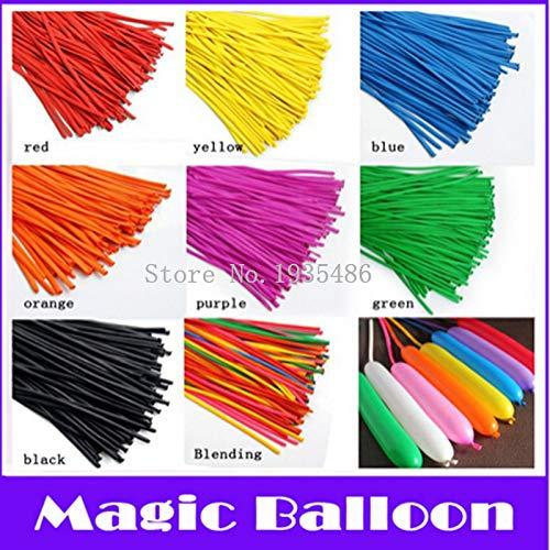 rdrehen Ballon Lange Form Ballon Latex Balloons Assorted Farben Hochzeit Geburtstag Weihnachten Urlaub Dekoration ()