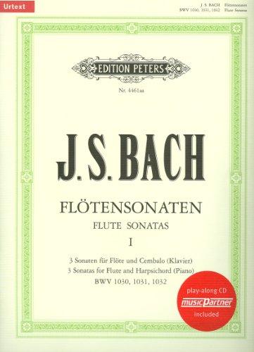 6 Sonaten Band 2 (Nr.4-6) BWV1033-35 (+CD): für Flöte und Klavier (Vier Für Und Flöte Klavier Sonaten)