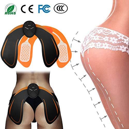 EMS HIPS Trainer Entrenador de cadera Hip EMS 6 modos Caderas Abs Tóner muscular Nalgas inteligentes Levantamiento Fácil Butt Levante Accesorios de bricolaje Traje para la aptitud del cuerpo Entrenamiento de la cadera Nalgas Belleza
