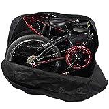 Huntforgold Faltrad Transporttasche Klapprad Fahrrad Abwahrungstasche für 20 Zoll Klappfahrrad